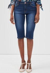 Cache Cache - Denim shorts - stone blue denim - 0