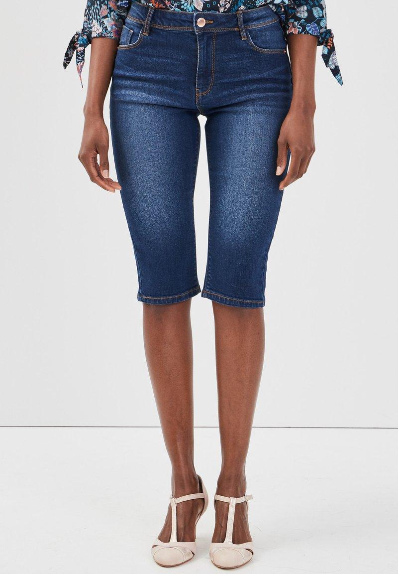 Cache Cache - Denim shorts - stone blue denim
