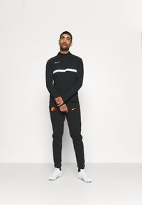 Nike Performance - GALATASARAY ISTANBUL PANT - Club wear - black/vivid orange - 1
