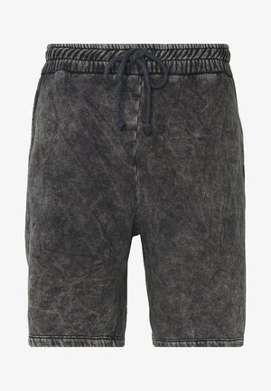 WAVE - Tracksuit bottoms - washed black