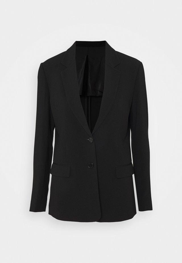 SAMIRA - Krátký kabát - black