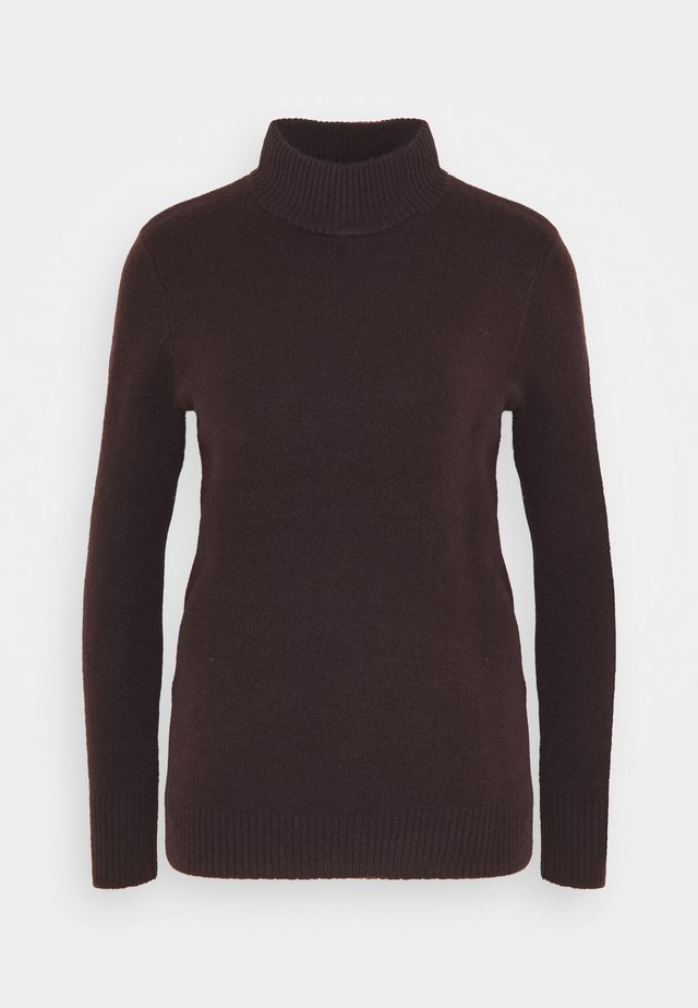 NESSIE - Sweter - maroon