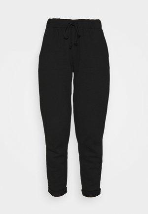 BASIC - Tracksuit bottoms - black