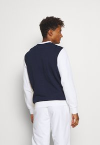Lacoste Sport - BLOCK - Sweatshirt - navy blue/white/wasp - 2