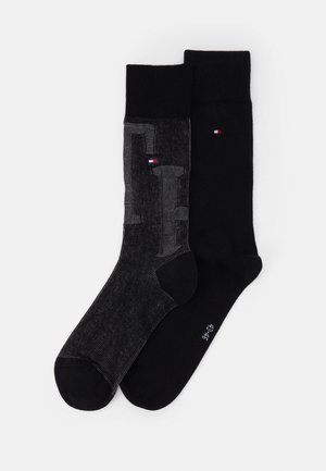 MEN SOCK 2 PACK - Socks - black