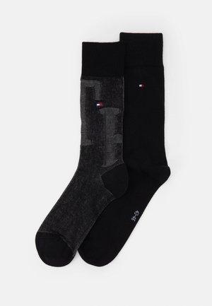 MEN SOCK 2 PACK - Socken - black
