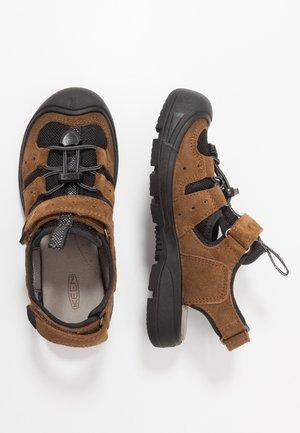 BALBOA - Walking sandals - black