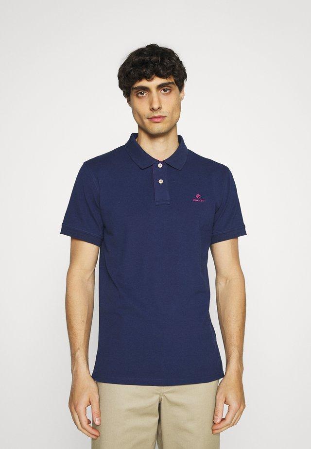Polo shirt - persian blue