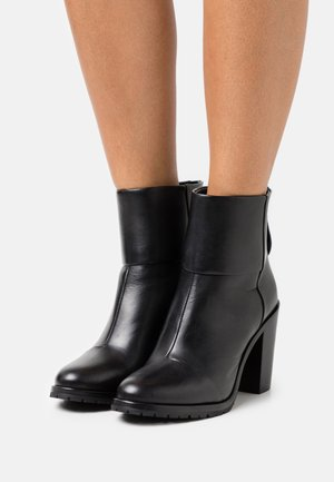 NEWBURY - High heeled ankle boots - black