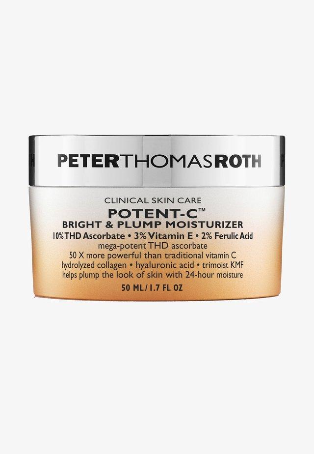 POTENT-C BRIGHT & PLUMP MOISTURIZER - Hydratant - -