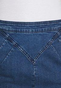 Noisy May - Mini skirt - medium blue denim - 7