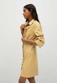 Mango - NASTIA - Shirt dress - giallo pastello - 6