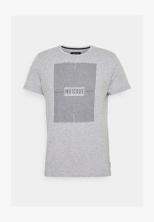 EASON - Print T-shirt - grey mix