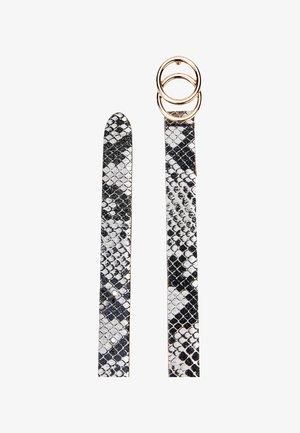 Waist belt - black, off-white