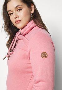 Ragwear Plus - NESKA PLUS - Mikina skapucí - pink - 5
