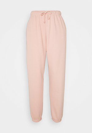 LOUNGEWEAR - Tracksuit bottoms - dusty rose
