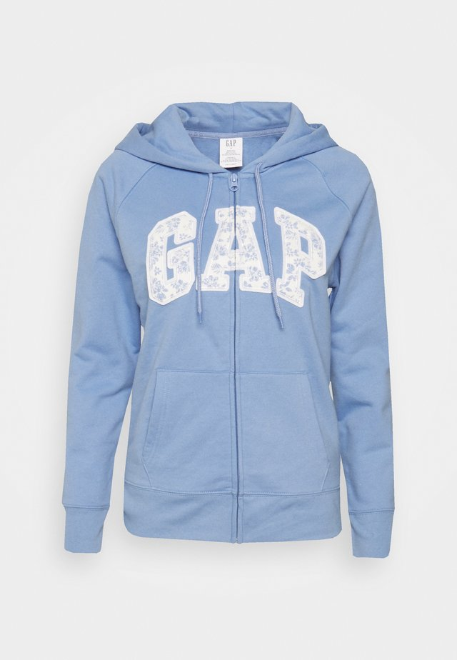 NOVELTY - Zip-up sweatshirt - bright hyacinth