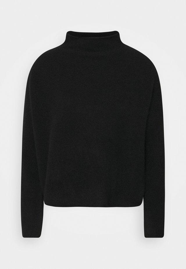 MIKA FUNNEL NECK - Jumper - black