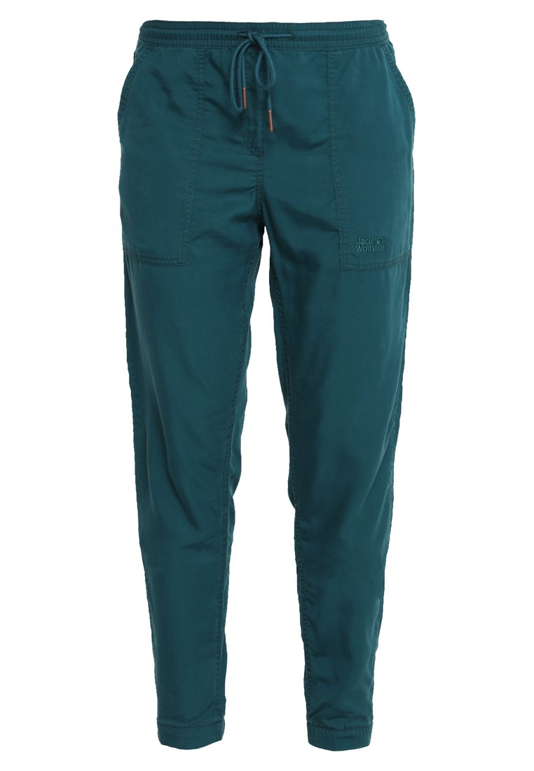 MOJAVE PANTS Bukse teal green