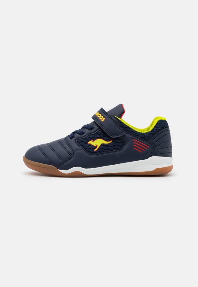 MIYARD - Trainers - dark navy/lime