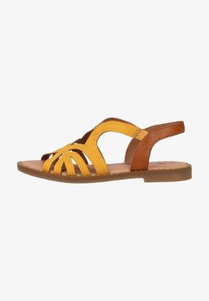 Sandalen - honig/cayenne
