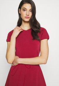 Bally - BELTED DRESS - Jumper dress - red - 3