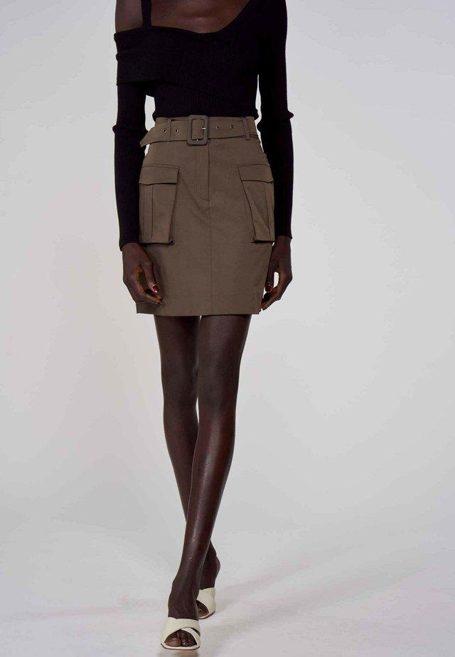 Mini skirt - green