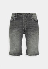 JJIRICK JJORIGINAL - Denim shorts - grey denim