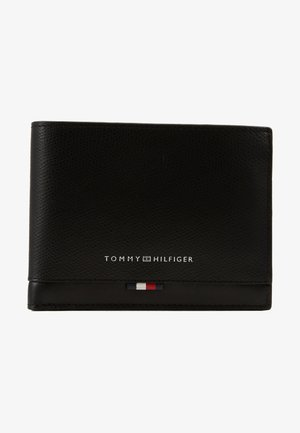 BUSINESS LEATHER EXTRA COIN - Portemonnee - black
