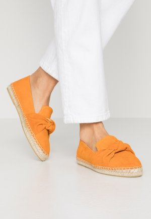 SLIP-ON - Espadrilky - orange