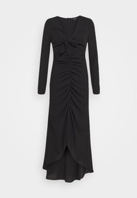 RUCHED CUT OUT DRESS - Day dress - black