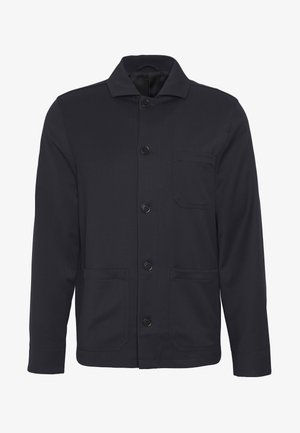LOUIS GARBADINE JACKET - Summer jacket - navy