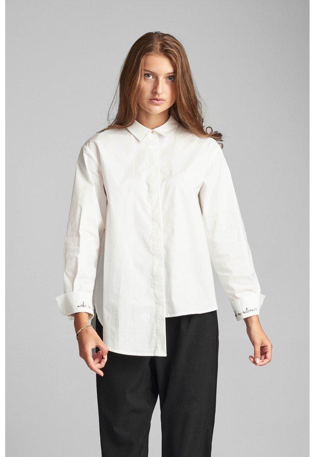 NUBRISTOL - Button-down blouse - pristine