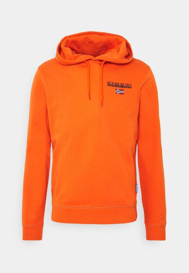 ICE - Hoodie - orange koi