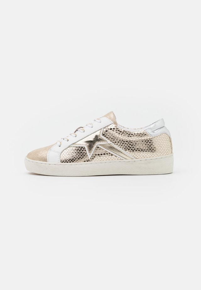 CARTILOU - Sneakers laag - or/multicolor