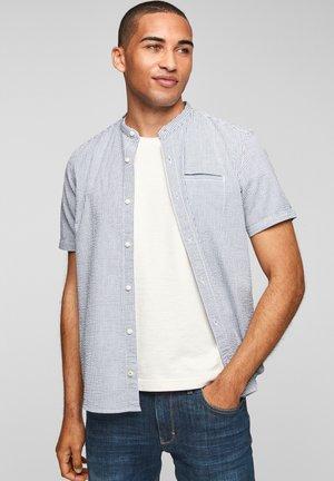 REGULAR - Shirt - medium blue stripes