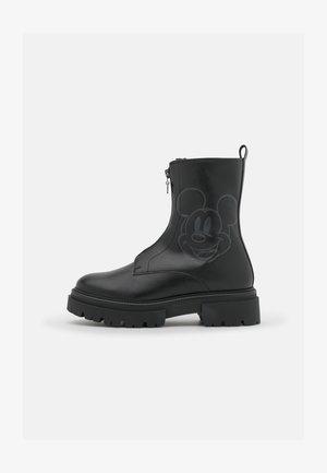 DISNEY - Platform ankle boots - black