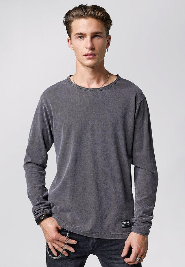 JONAH - Long sleeved top - vintage stone grey