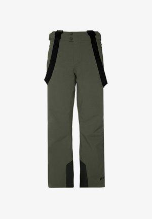 BORK - Zimní kalhoty - huntergreen