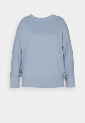 TIE SIDE - Sweatshirt - light blue