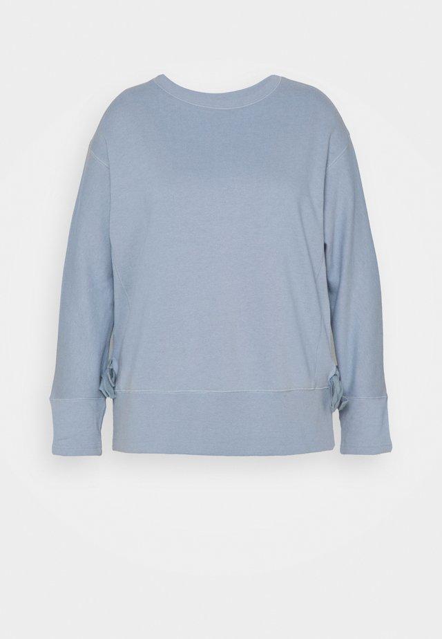 TIE SIDE - Sudadera - light blue