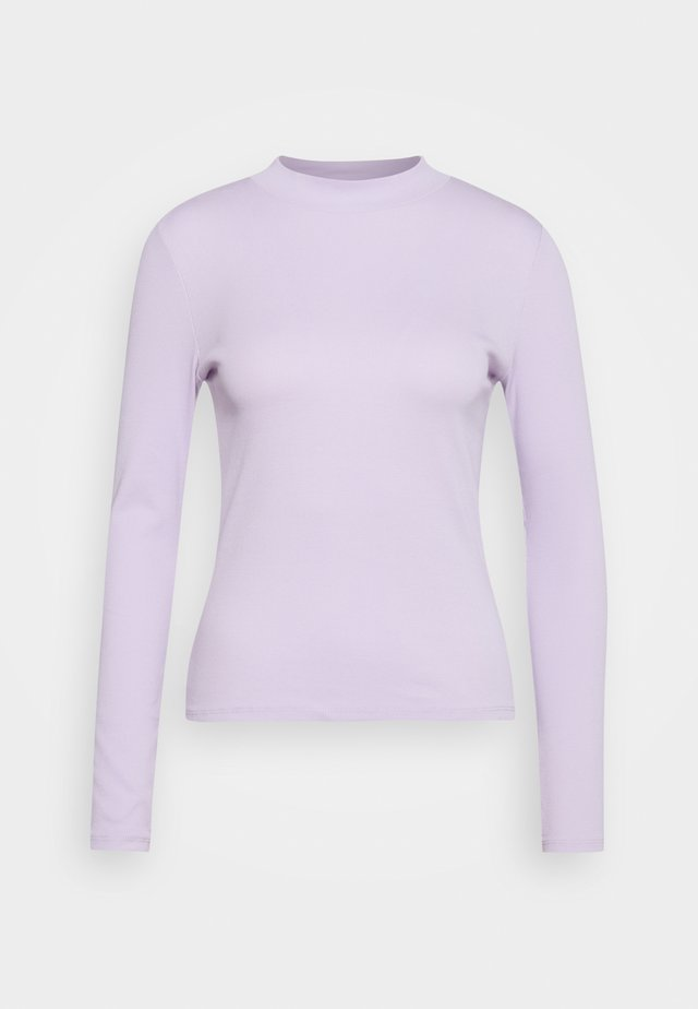 SAMINA - Long sleeved top - lilac purple light