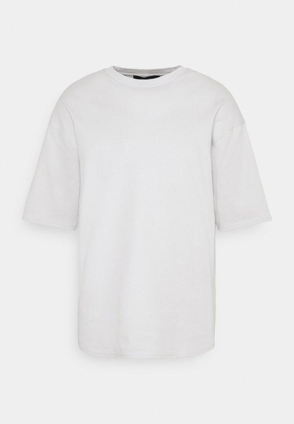NU-IN GALLUCKS X NU IN COLLECTION OVERSIZED CREW NECK - T-shirt basic - grey/szary Odzież Męska OVXH