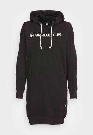 GRAPHIC ZIP DRESS - Vestito estivo -  black