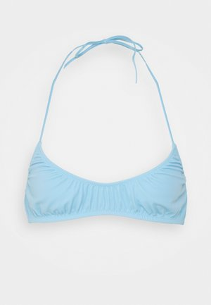 CLOUD TRIANGLE SWIM - Bikini top - light blue