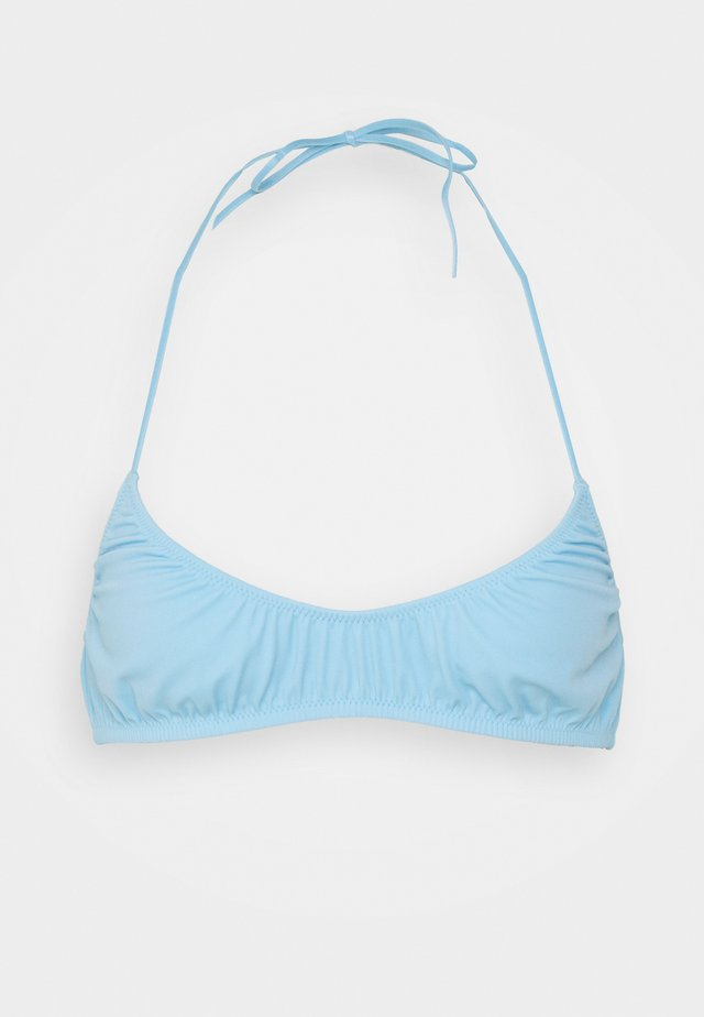 CLOUD TRIANGLE SWIM - Bikinitop - light blue