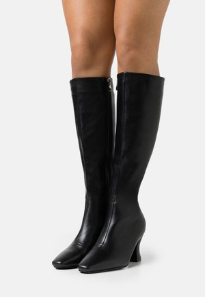 WIDE FIT JACEY - Boots - black