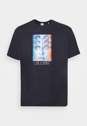 TEE - T-shirt con stampa - dark navy