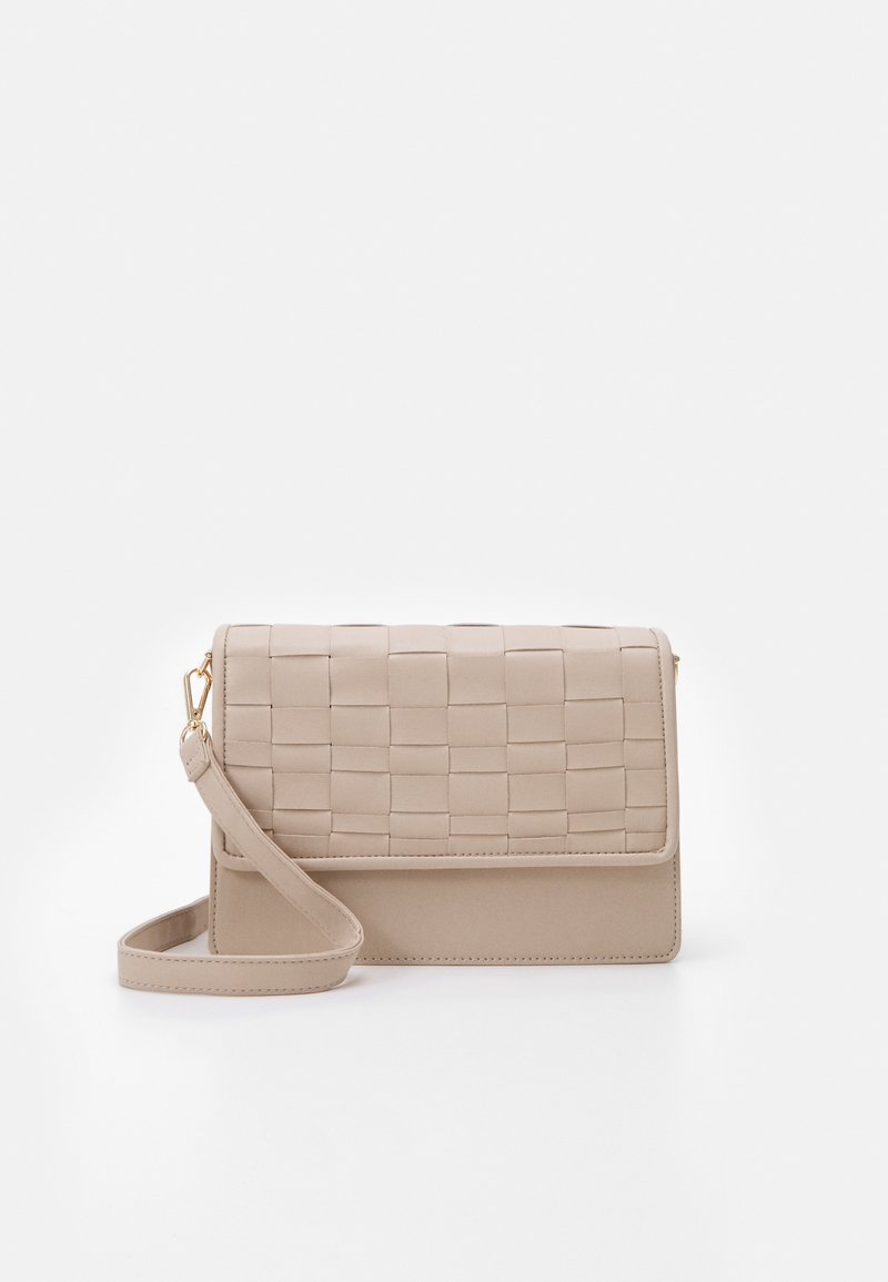 New Look - WOVEN XBODY - Across body bag - off white
