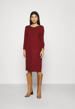 DRESS  - Jumper dress - dark maroon red